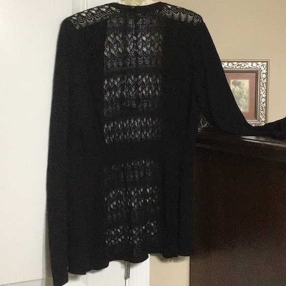 Maurices Sweaters - Maurice Black Cardigan